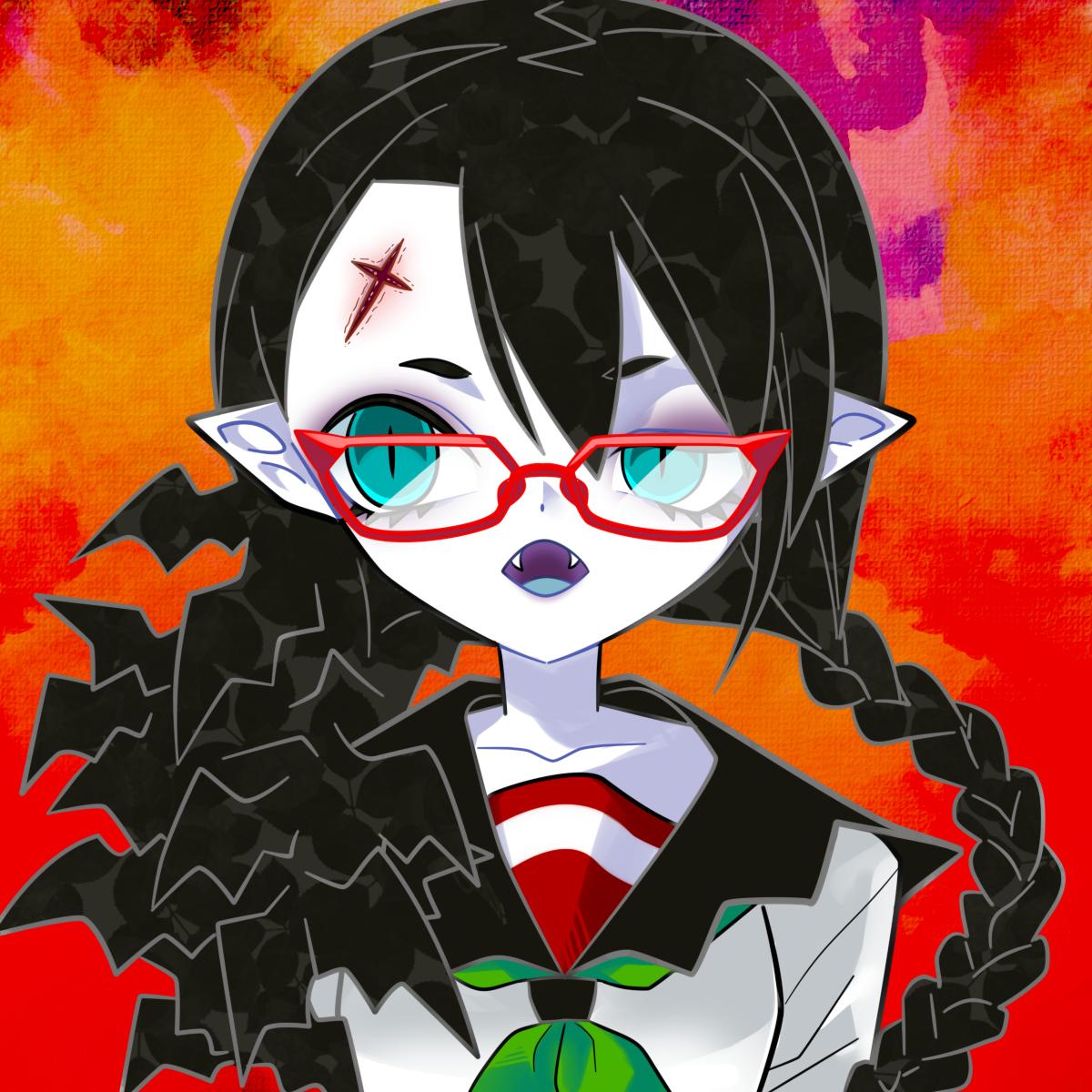セーラー×吸血鬼